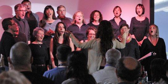 Concert del Grup de Gospel de l'EMM Torre Balada - photo#29