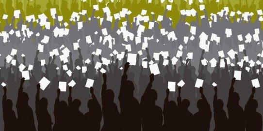 Concentració de suport a les autoritats imputades pel 9N - photo#26